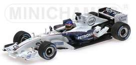 Sauber BMW - 2006 white - 1:43 - Minichamps - 400060903 - mc400060903 | Toms Modelautos