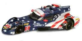 Deltawing  - 2016 blue/white/red - 1:43 - Spark - US013 - spaUS013 | Toms Modelautos
