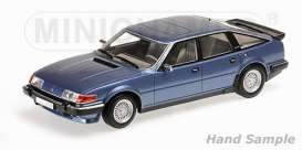 Rover  - 1986 blue metallic - 1:18 - Minichamps - mc107138400 | Tom's Modelauto's