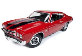 Chevrolet  - 1970 red - 1:18 - Auto World - AMM1082 | Tom's Modelauto's