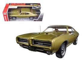 Pontiac  - 1969  - 1:18 - Auto World - AMM1081 | Tom's Modelauto's