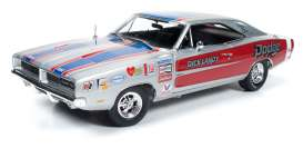 Dodge  - Charger R/T *Dick Landy* 1969 silver - 1:18 - Auto World - 228 - AW228 | Tom's Modelauto's