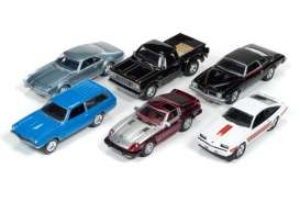 Assortment/ Mix  - various - 1:64 - Johnny Lightning - JLCG002A | Tom's Modelauto's