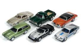 Assortment/ Mix  - various - 1:64 - Johnny Lightning - JLCG002B | Tom's Modelauto's