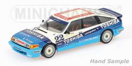 Rover  - 1984 white/blue - 1:18 - Minichamps - 107861322 - mc107861322 | Tom's Modelauto's