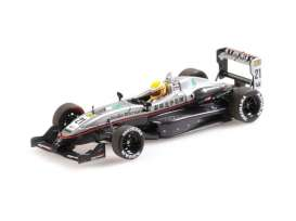 Dallara Mercedes Benz - 2004 dark grey/silver - 1:43 - Minichamps - 410040321 - mc410040321 | Toms Modelautos