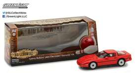 GreenLight - Chevrolet  - gl86497 : 1985 Chevrolet Corvette C4 *Little Larry Sellars* The Big Lebowski (1998).