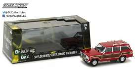 GreenLight - Jeep  - gl86499 : 1991 Jeep Wagoneer *Skylar White* Breaking Bad tv series