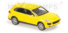 Porsche  - 2014 yellow - 1:43 - Maxichamps - 940063201 - mc940063201 | Tom's Modelauto's