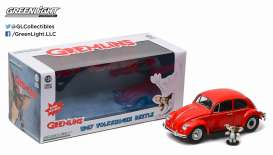 Volkswagen  - Beetle *Gremlins* 1967 red - 1:24 - GreenLight - 18231 - gl18231 | Tom's Modelauto's
