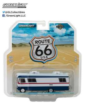 GreenLight - Condor  - gl33090A : 1972 Condor II RV *H.D. Truck series 9*, red/white/blue