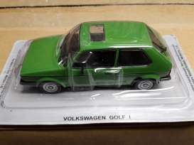 Magazine Models - Volkswagen  - magPCvwGolfI : Volkswagen Golf 1 *Polish cars* green in bubble pack
