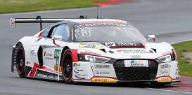 Minichamps - Audi  - mc437161193 : 2016 Audi R8 LMS CAR COLLECTION MOTORSPORT Frankenhout/Haase ADAC GT Masters, white