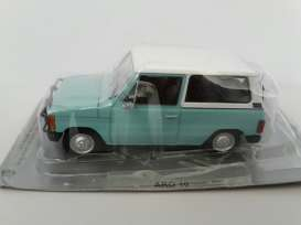 ARO  - 10 light blue/white - 1:43 - Magazine Models - PCaro10 - magPCaro10 | Toms Modelautos