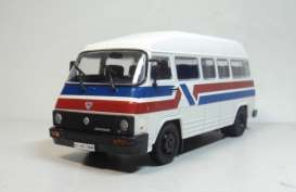 Rocar  - TV 35 bus white/red/blue - 1:43 - Magazine Models - lcRocar35 - maglcRocar35 | Toms Modelautos