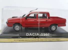 Magazine Models - Dacia  - magLCda1307r : Dacia 1307 double cabin (Renault 12) *Legendary cars*, red