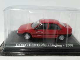 Dong Feng  - 2000 red - 1:43 - Magazine Models - TXdongfeng - magTX13 | Toms Modelautos