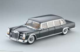 Mercedes Benz  - 600 Pullman 1966 black - 1:18 - SunStar - 2209 - sun2209 | Toms Modelautos