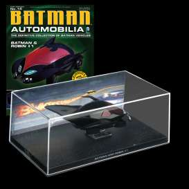 Magazine Models - Batman  - magBAT-15 : 1/43 Batman Batmobile Batman and Robin #1, black