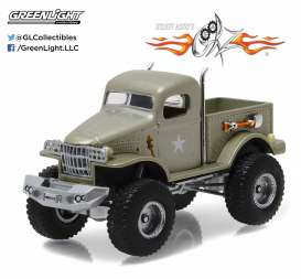 GreenLight - Dodge  - gl44750D : 1941 Military 1/2 Ton 4x4 Pickup Truck *Sgt. Rock* Stacey Davids Gearz (2007-Current TV Series), Hollywood series 15
