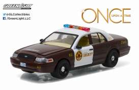 Ford  - 2005 brown/white - 1:64 - GreenLight - 44750F - gl44750F | Toms Modelautos