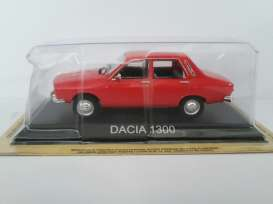 Dacia  - red - 1:43 - Magazine Models - magPCda1300r | Tom's Modelauto's