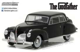 GreenLight - Lincoln  - gl86507 : 1941 Lincoln Continental *the Godfather 1972*, black