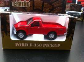 Ford  - Red - 1:46 - Magazine Models - magGTTF350 | Tom's Modelauto's