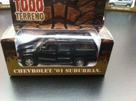Chevrolet  - 2001 black - 1:36 - Magazine Models - magGTTsuburb | Tom's Modelauto's