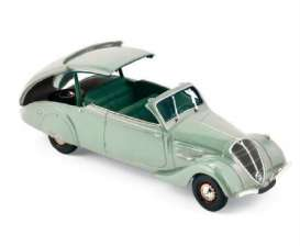 Peugeot  - 1937 light green - 1:43 - Norev - 474218 - nor474218 | Tom's Modelauto's
