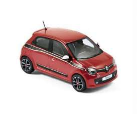 Norev - Renault  - nor517416 : 2014 Renault Twingo Sport Pack, flamme red