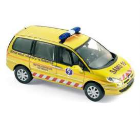 Norev - Peugeot  - nor478710 : 2013 Peugeot 807 SAMU, yellow