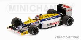 Williams  - 1986 white/yellow/blue - 1:43 - Minichamps - 435860006 - mc435860006 | Tom's Modelauto's