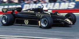 Lotus Ford - 1982 black - 1:43 - Minichamps - mc417820011 | Tom's Modelauto's