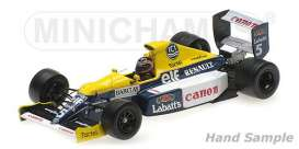 Williams Renault - 1990 white/blue/yellow - 1:43 - Minichamps - 437900005 - mc437900005 | Tom's Modelauto's