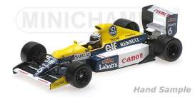 Williams Renault - 1990 white/blue/yellow - 1:43 - Minichamps - 437900006 - mc437900006 | Tom's Modelauto's