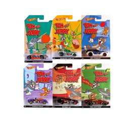 Hotwheels - Assortment/ Mix  - hwmvCMJ28~12 : 1/64 Tom & Jerry assortment of 12