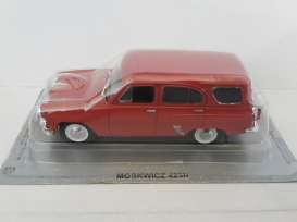 Moskwitch  - red - 1:43 - Magazine Models - magPCmos423N | Tom's Modelauto's