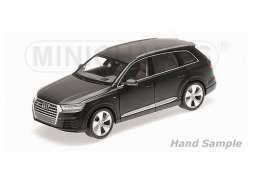 Audi  - 2014 matt black - 1:18 - Minichamps - mc110014001 | Tom's Modelauto's