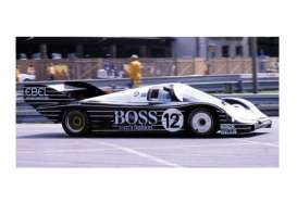 Porsche  - 1983 black/white - 1:18 - Minichamps - mc155836612 | Tom's Modelauto's