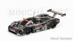 Minichamps - Sauber  - mc155883561 : 1988 Sauber C9 Team Sauber Mercedes Baldi/Weaver/Mass 24H Le Mans, black/white