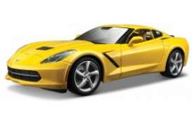 Maisto - Chevrolet Corvette - mai31182y : 2014 Chevrolet Corvette Stingray, yellow