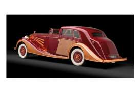 Rolls Royce  - 1937 red/cooper - 1:43 - Minichamps - 437134660 - mc437134660 | Tom's Modelauto's