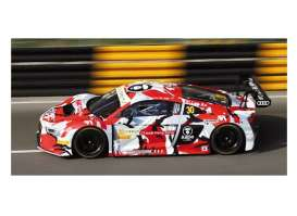 Minichamps - Audi  - mc437151130 : 2015 Audi R8 LMS Audi honk-Kong Marchy Lee GT World Cup Macau *Resin series*, red/black/grey