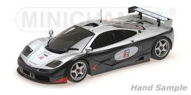 McLaren  - black/silver/red - 1:18 - Minichamps - 530133512 - mc530133512 | Tom's Modelauto's