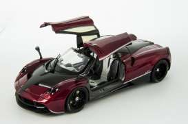 Pagani  - Huayra 2014 blood red/black - 1:18 - GTA - gta11007TFr | Toms Modelautos