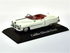 Cadillac  - 1953 white - 1:43 - Magazine Models - prc608 - magprc608 | Toms Modelautos