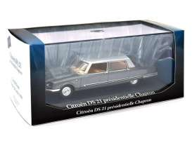 Citroen  - grey - 1:43 - Magazine Models - magprc011 | Tom's Modelauto's