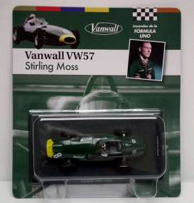 Vanwall  - 1957 green/yellow - 1:43 - Magazine Models - for01 - magfor01 | Tom's Modelauto's