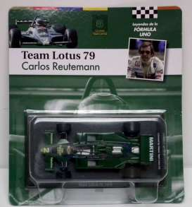 Lotus  - 1979 green - 1:43 - Magazine Models - for03 - magfor03 | Tom's Modelauto's